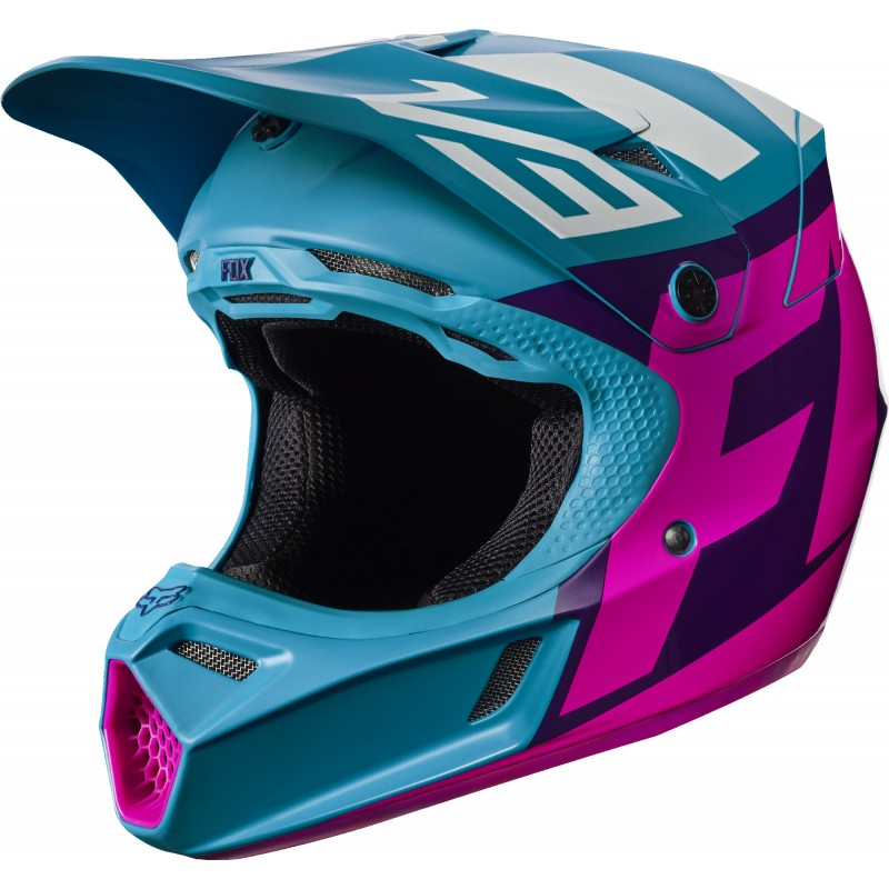 FOX V3 CREO TEAL
