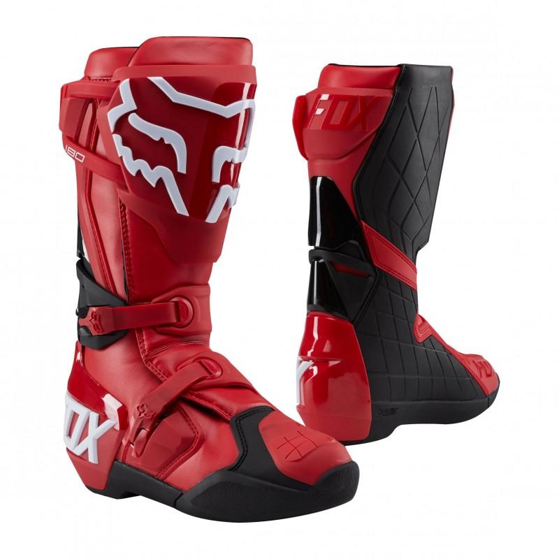 Hier sehen Sie den Artikel FOX 180 BOOT aus der Kategorie Motocross Stiefel. Dieser Artikel ist erhältlich bei motocorner.ch