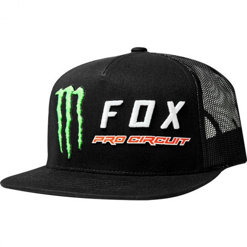 Hier sehen Sie den Artikel FOX CAP MONSTER aus der Kategorie Caps & Headwear. Dieser Artikel ist erhältlich bei motocorner.ch