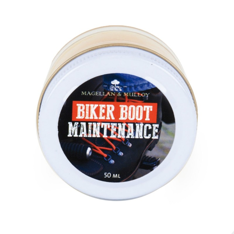 BIKER-BOOT MAINTENANCE