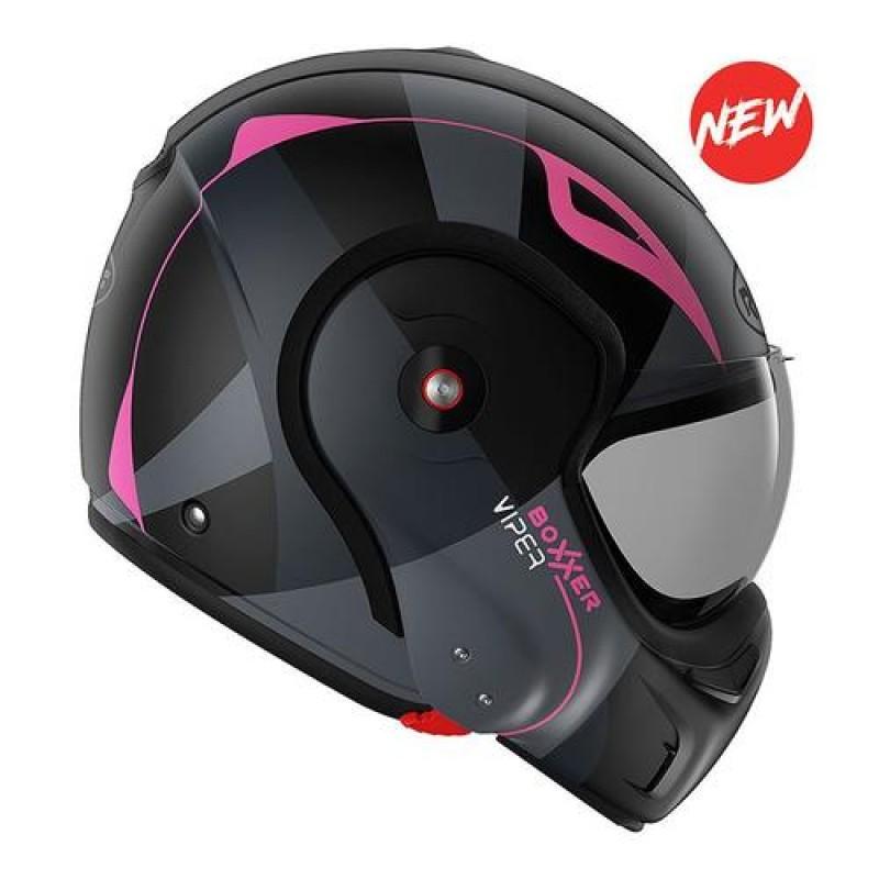 Hier sehen Sie den Artikel ROOF BOXXER VIPER aus der Kategorie System Helme (Klapphelme). Dieser Artikel ist erhältlich bei motocorner.ch
