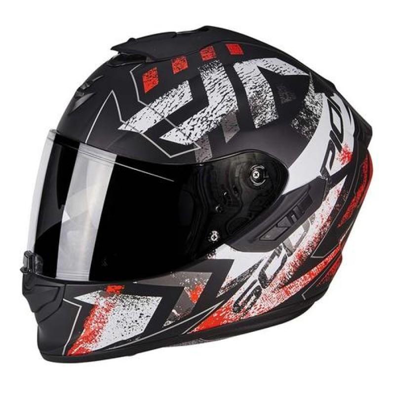 Hier sehen Sie den Artikel SCORPION EXO-1400 AIR PICTA aus der Kategorie Integral Helme. Dieser Artikel ist erhältlich bei motocorner.ch
